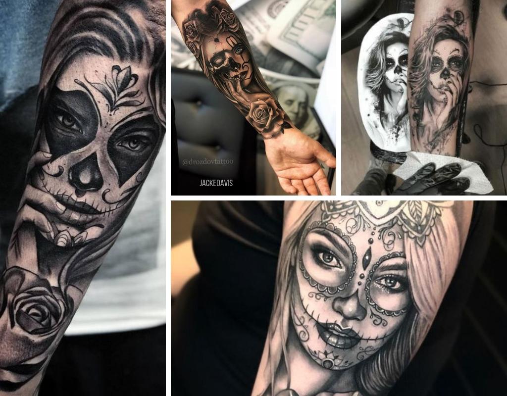 Inspiracao E Significados Tatuagens Catrina Jacke Davis